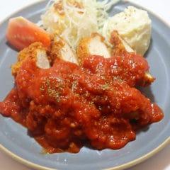 トマトソースチキンカツセット